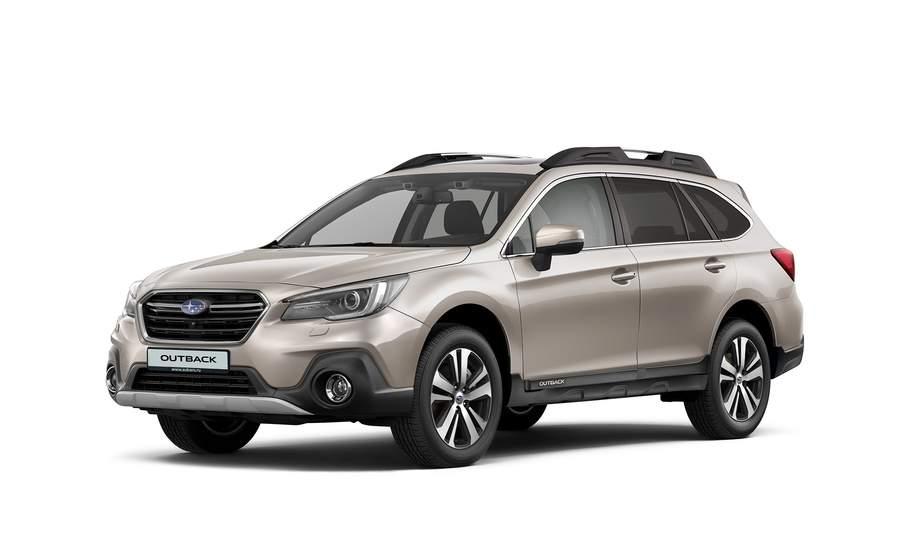 Старт продаж обновленного Subaru Outback 2018 модельного года