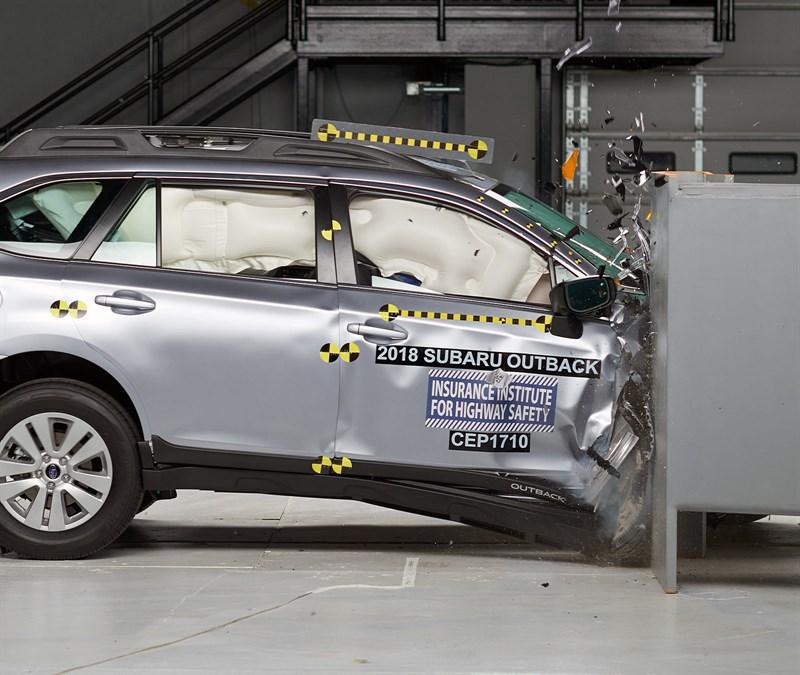 Шесть моделей Subaru получили высокие оценки в испытаниях Американского страхового института дорожной безопасности IIHS
