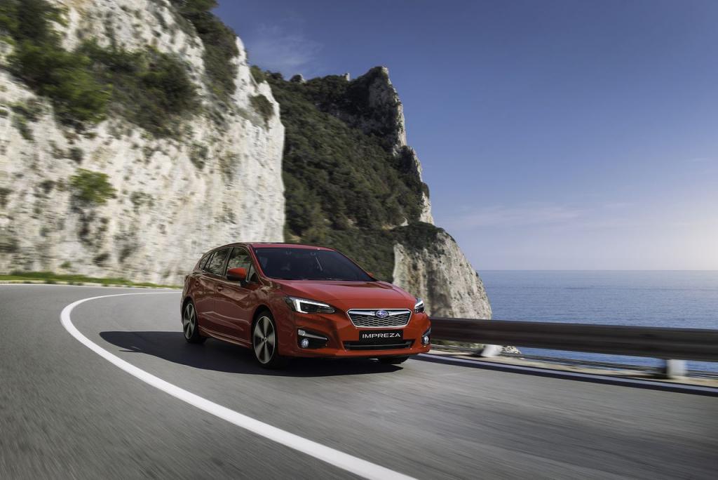 Премьера нового поколения Subaru Impreza в Европе